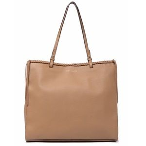 Vince Camuto Litzy Leather Tote Bag in Fawn
